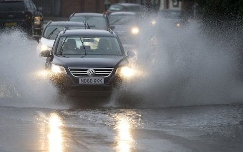 Britain faces heavy rain and flooding as yellow weather warning issued