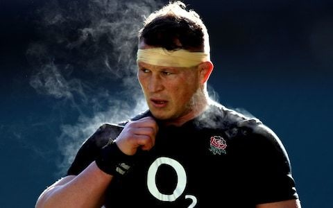 Dylan Hartley omitted from England's World Cup squad after failing to recover from knee injury
