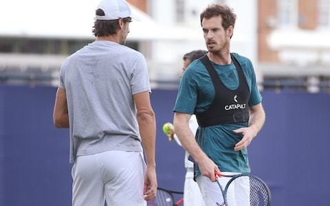 Andy Murray receives tough draw at Queen's Club as he steps up recovery from injury in first round of doubles