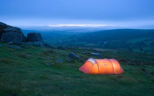 Britain: the joy of camping in the wild