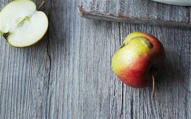 Danish pancake with apple recipe