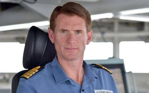 Commodore Nick Cooke-Priest 'flown off ship' after being 'reassigned' for using carrier's car