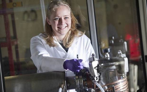 Meet the first lady of graphene, turning harmful gases into the wonder stuff