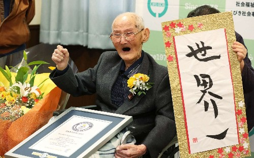 Oldest living man dies: Here's what he attributed his long life to