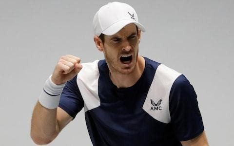 Andy Murray conjures up another miracle comeback to give Great Britain winning start in Davis Cup opener