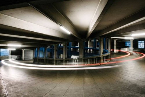 Car park art: Photographers create art out of the mundane multi storey - Telegraph