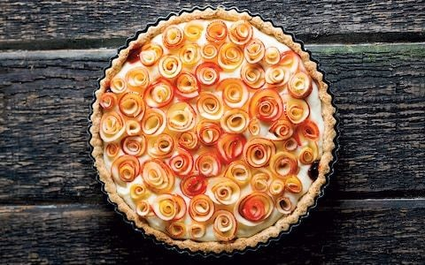 'Roses de pommes' apple tart recipe