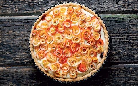 'Roses de pommes' apple tart recipe