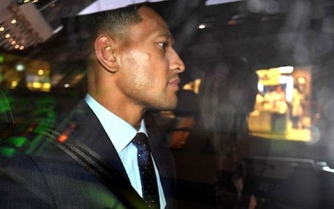 Israel Folau's new fundraising campaign surpasses GoFundMe total in just 24 hours