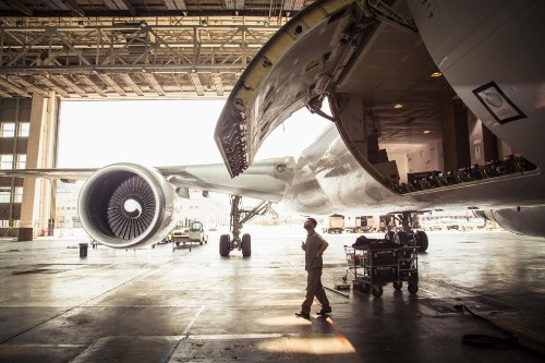 58,000 miles and 46 flights: a week in the extraordinary life of a modern aircraft