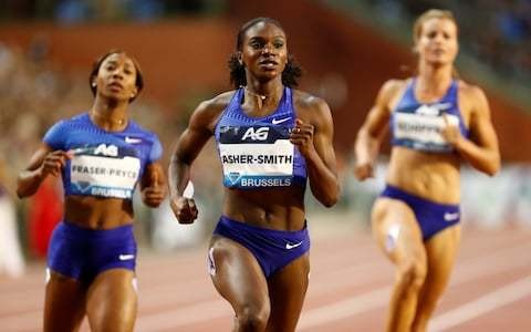 Dina Asher-Smith beats Shelly-Ann Fraser-Pryce to Diamond League 100m title to lay down World Championship gauntlet