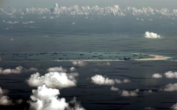 US says B52 flight over Spratly Islands 'may have strayed off course'