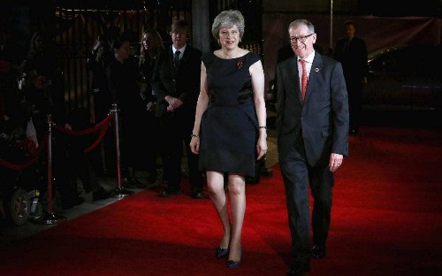 Over 60, over the knee: how Theresa May is tearing up the fashion rulebook
