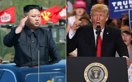 Donald Trump offers to meet Kim Jong-un as Pentagon warns only invasion can disarm North Korea