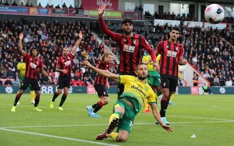 Struggling Norwich pick up first away point since return to Premier League by grinding out goalless draw at Bournemouth