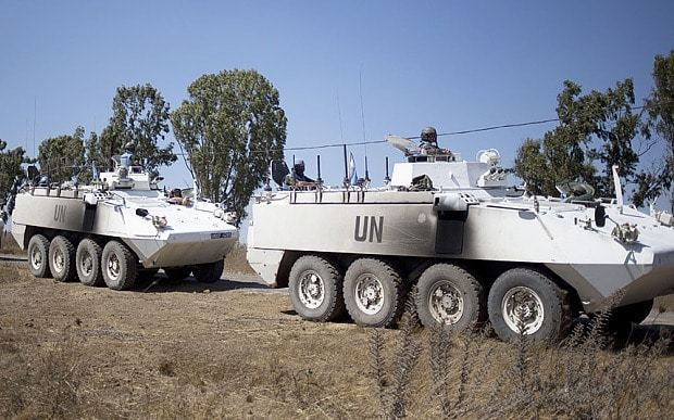 47 UN peacekeepers 'abducted by al-Qaeda linked Syrian rebels'