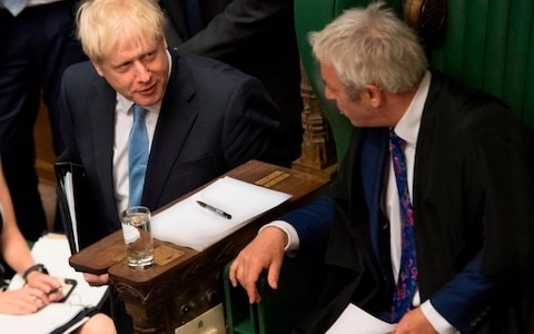 Boris Johnson should thank John Bercow for becoming the face of Brexit delay