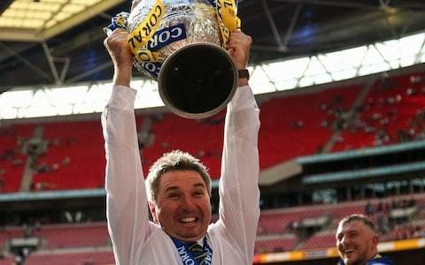 Steve Price dreaming of the double after underdogs Warrington complete Challenge Cup triumph