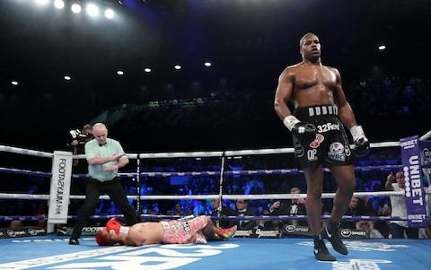 Daniel Dubois delivers explosive knockout of Kyoto Fujimoto to claim the WBC Silver and WBO International heavyweight titles