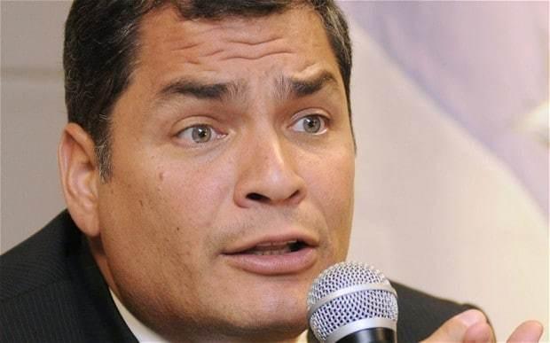 Ecuador president says he has yet to consider any asylum bid for Edward Snowden