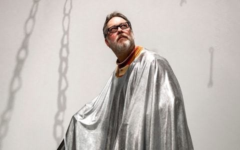 Bauhaus Rules with Vic Reeves, review: this tin foil party was a playful paean to Bauhaus