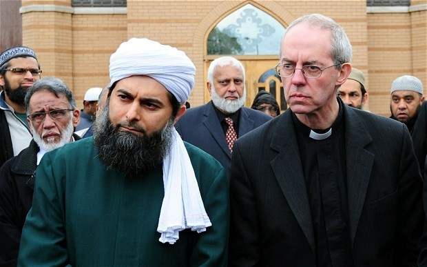 Fear of Muslims tearing British society apart – Welby