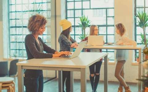 Standing desks will improve productivity, study by University of Leicester in BMJ finds