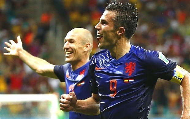 Holland forward Robin van Persie says 'we could have scored eight' against Spain in 2014 World Cup opener