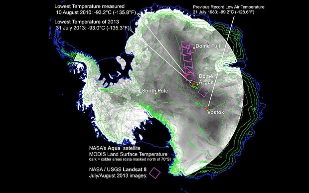 Nasa finds the coldest place on the planet
