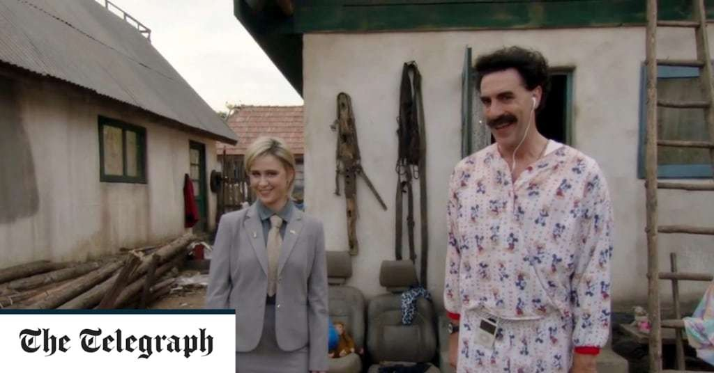 Kazakhstan embraces Borat's 'very nice' catchphrase in shift from anger at first film