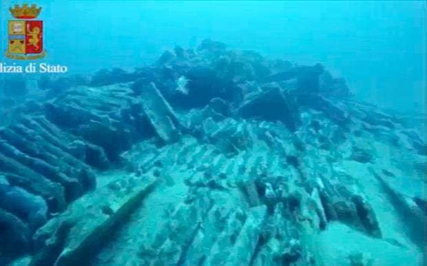 Well-preserved ancient Roman ship found in waters off Sardinia coast