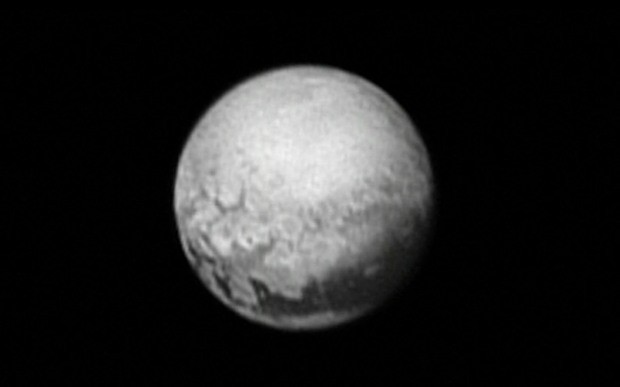 Never before seen images of Pluto captured by spacecraft