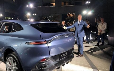 Chinese battery manufacturer weighs up Aston Martin deal