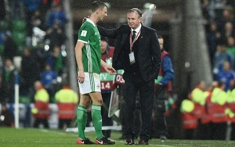 Northern Ireland defender Jonny Evans admits players confused by Michael O'Neill's dual Stoke role