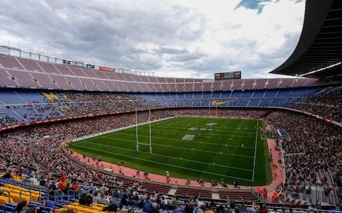 Catalans Dragons overpower Wigan in front of record Super League crowd at Barcelona's Nou Camp