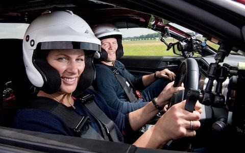 Top Gear, episode 3, review: Zara Phillips and Mike Tindall play wacky races as the show comes back from the dead