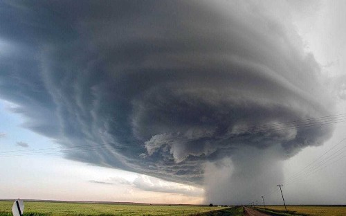 Painting or photo? Glorious storm images capture incredible power of Mother Nature