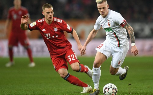 Bayern Munich defender Joshua Kimmich interview: 'Liverpool are favourites, we are not as consistent as before'