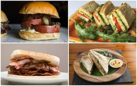 British Sandwich Week: what are top chefs' favourite sarnies?