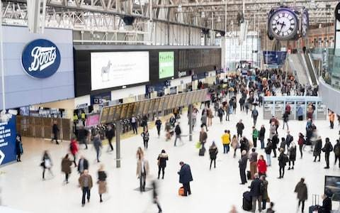 Contractor dies while working on travelator at Waterloo station