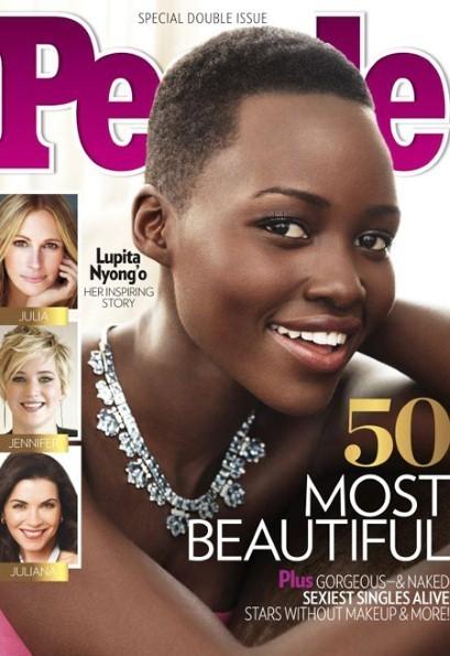 People magazine names Lupita Nyong'o 2014's World's Most Beautiful Woman