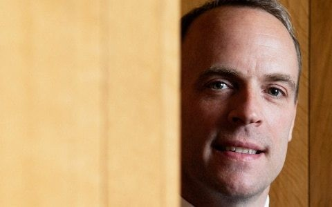 Brussels nicknamed Dominic Raab 'The Turnip' during his disastrous spell as Brexit secretary