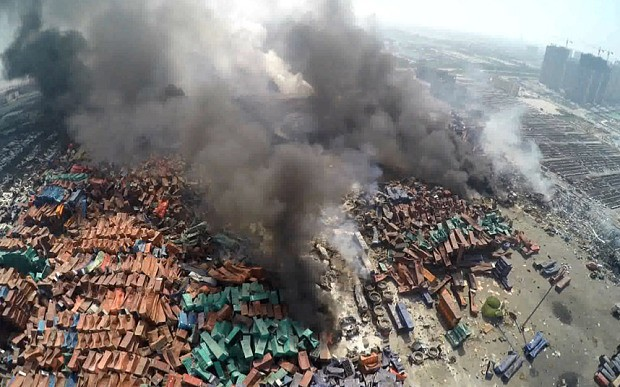 Tianjin warehouse handled chemicals without licence, reports Chinese state media
