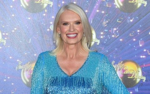 """Anneka Rice was inspired by her empty nest to do Strictly, as she says she feels """"reckless"""""""