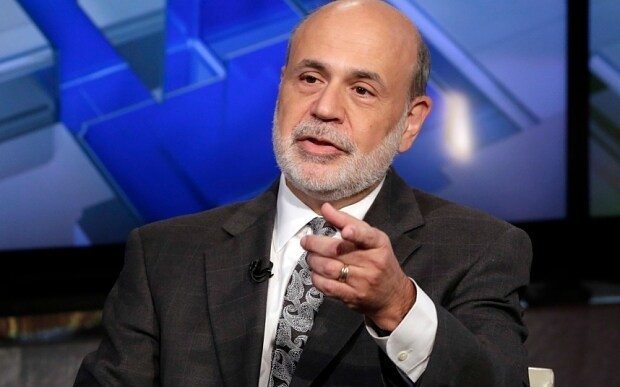 Ben Bernanke reveals the biggest threat to global economy right now