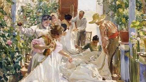 Private view of the National Gallery's Sorolla: Spanish Master of Light