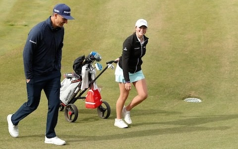 Rhodes sisters gearing up for final-day showdown at Justin Rose Telegraph Junior Golf Championship