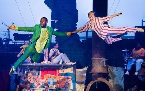 London's newest theatre takes flight: Peter Pan, Troubadour White City, review