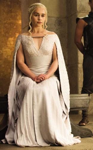 Why Daenerys Targaryen is on every fashion designer's moodboard