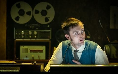 Berberian Sound Studio, Donmar Warehouse, review: a brave stab, but the film's the thing